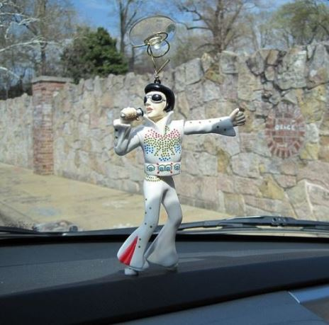 Elvis Windshield Bobbler