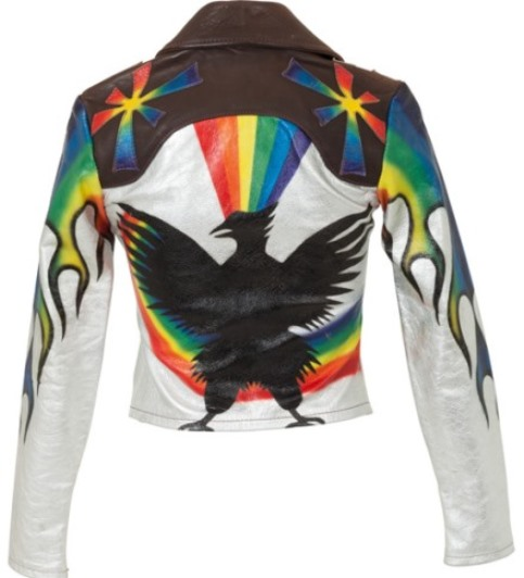 Linda Thompson Eagle' Jacket - back