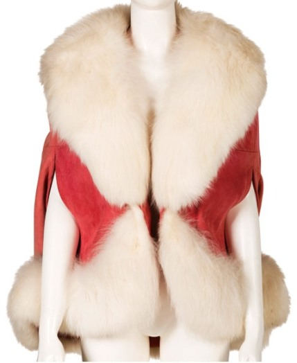Linda Thompson Fur Cape