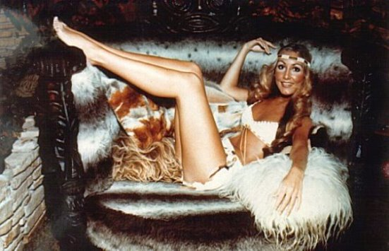Linda Thompson In Jungle Roon
