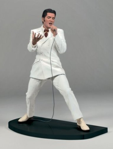 McFarlane Elvis Wearing White Suit from '68 Special