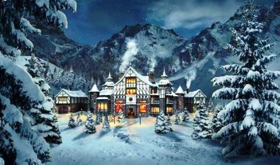 Santa's Castle at the North Pole