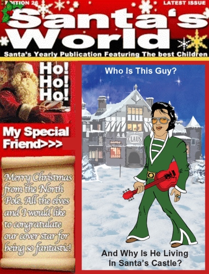 Santa's World Cover