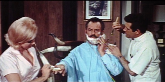 Charlie Hodge as Barber - Clambake