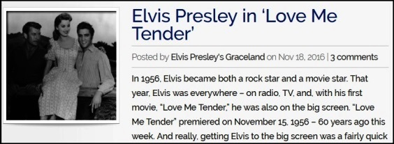 Graceland Blog Love Me Tender
