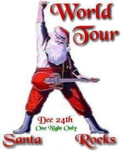 Santa Rocks - World Tour