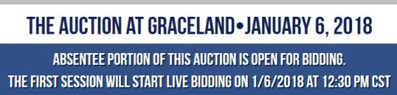 The Auction at Graceland January 6 2018