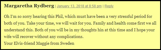 Get well wishes from Sweden