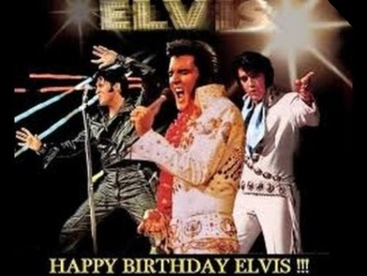 Three Elvis Happy Birthday