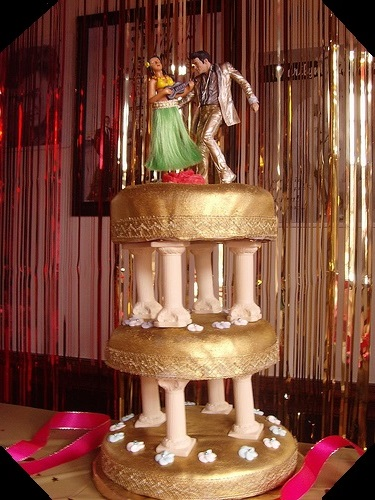 Three Tier Elvis Cake