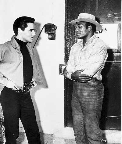 Elvis & Jim Brown