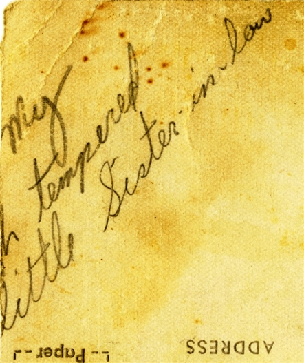Elvis Presley Inscribed Snapshot - Given to His Little Sister-in-Law