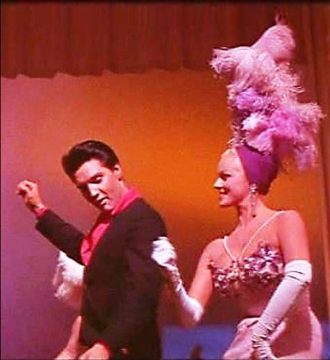 scene where Presley sings Viva Las Vegas is performed in one single unedited shot—the only known example of such a technique in Presley's movie career.