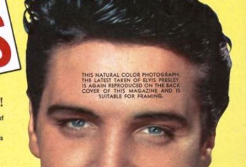 Cool Hep Cats Cover with Printing on Elvis' Head