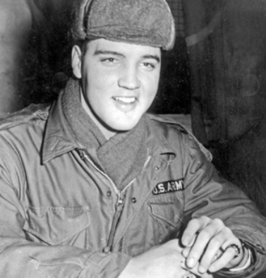 Elvis - Dec 17, 1958 Grafenwoehr exercise camp