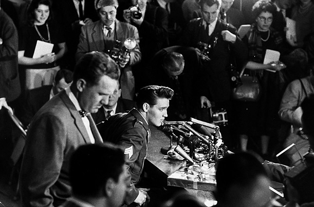 Elvis Presley Discharge Press Conference March 1 1960