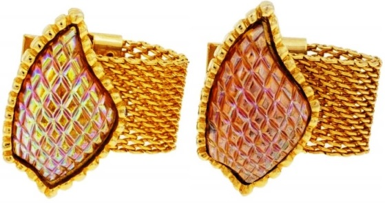 Elvis' SHARK FIN STYLE CUFFLINKS