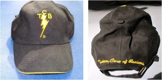 Brand New TCB Lightning Bolt Baseball Cap