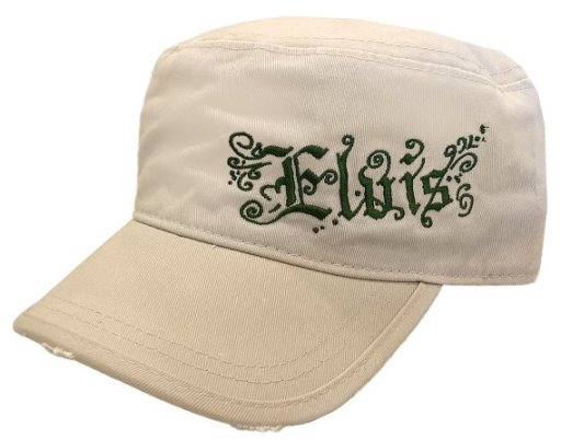 ELVIS KHAKI MILITARY CAP