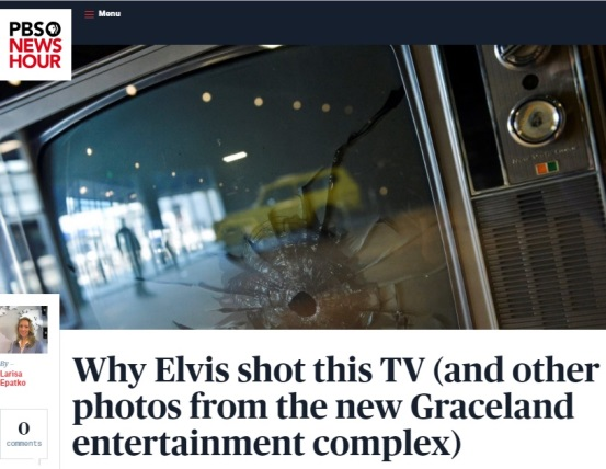 PBS Story on Elvis Shooting TV Mar 3, 2017