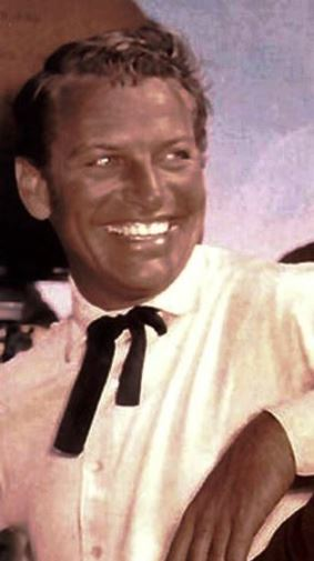 Richard Egan Laughing