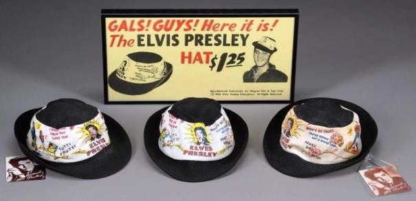 Elvis Souvenir Hats