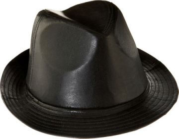 Elvis Black Leather Hat sold for $2,151