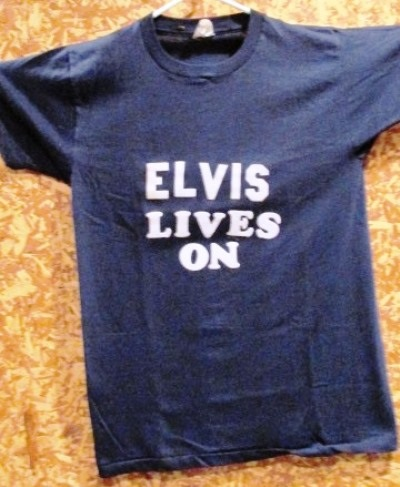 Elvis Lives On T-shirt