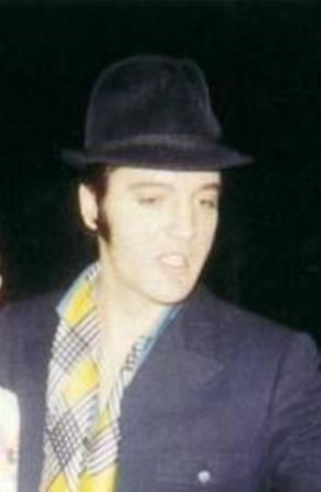 Elvis in Fedora