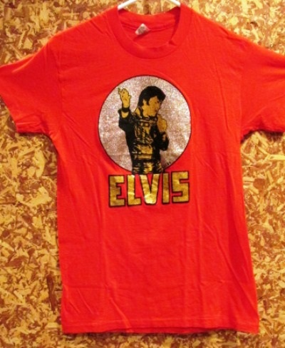 Elvis name and Image T-shirt
