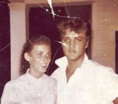 Young Elvis and girl