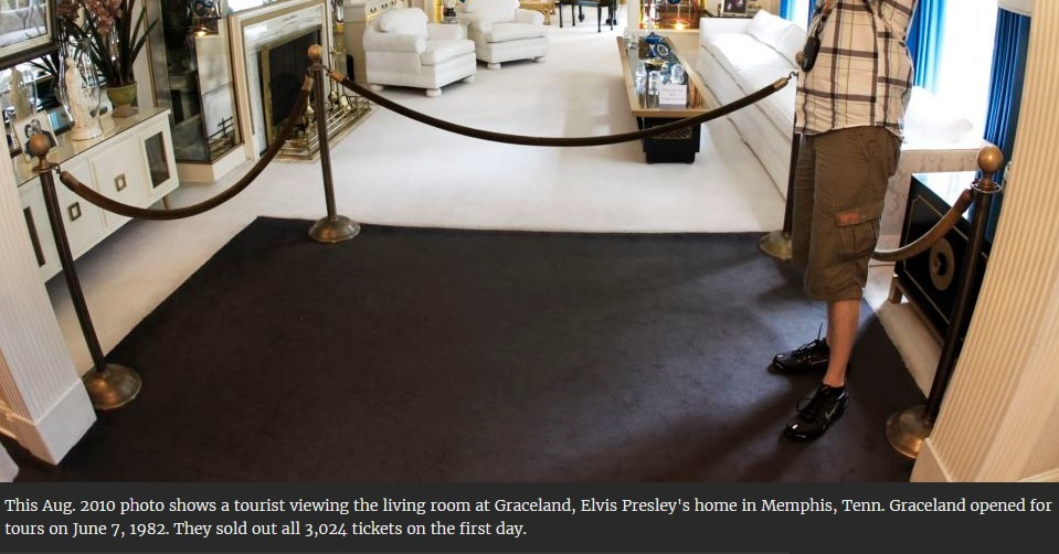 3,024 Tickets sold on the first Day Graceland opened to the public