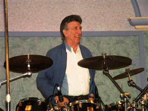 DJ Fontana at Drums