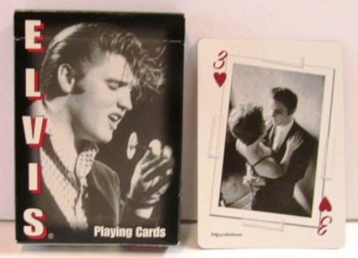 Elvis - Al Wertheimer Playing Cards