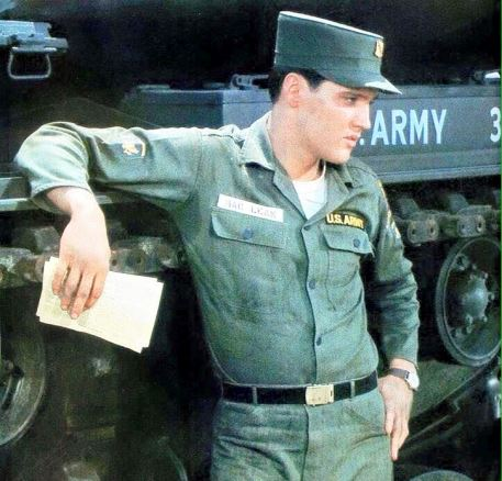 Elvis Arm Sweat in 1960 GI Blues