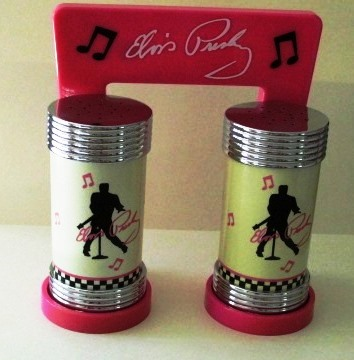 Elvis Salt and Pepper Shakers
