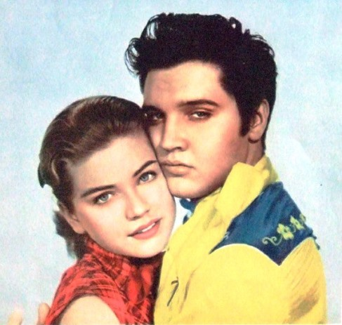 Elvis and delores Hart in Loving You