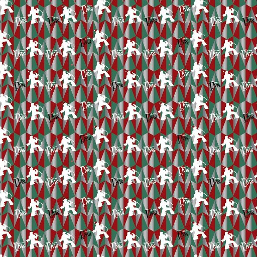 ELVIS GROOVY TREE WRAPPING PAPER