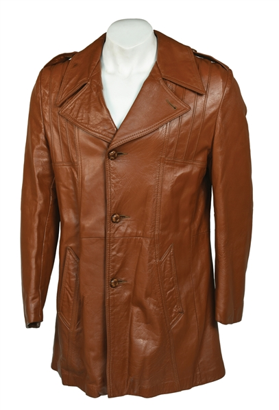 Elvis' Leather Jacket He Gave to Bodyguard Dave Hebler