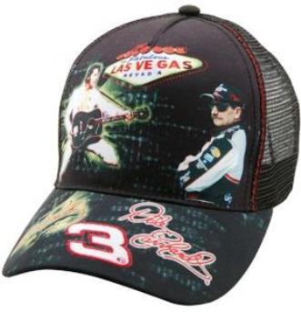 Elvis and Dale Earnhardt Fantasy Race Car Cap