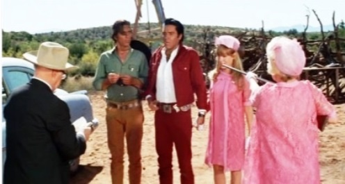Elvis in Stay Away Joe Shotgun Wedding Scene