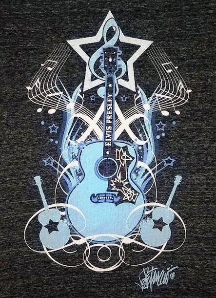 JOE PETRUCCIO GUITARMAN T-SHIRT Blow-up