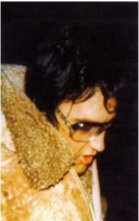 Suede Shearling Coat- Elvis Wearing 2