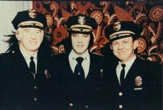Elvis and Officers