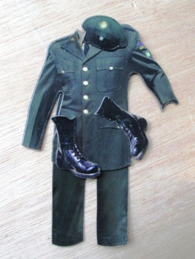 Discarded Elvis Army Uniform