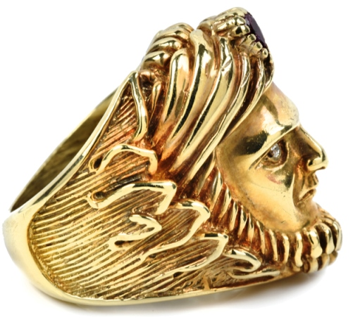 Elvis Presley's Swami Ring - Profile
