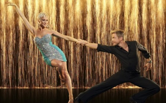 KELLIE PICKLER AND DEREK HOUGH Season 16 of Dancing with the Stars