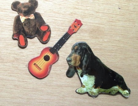 Teddy Bear, Guitar, Hound Dog