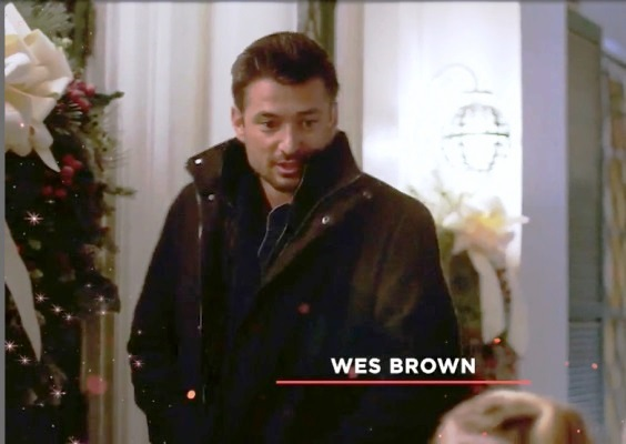 Wes Brown in Christmas in Graceland