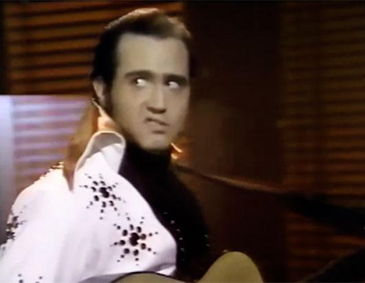 Andy Kaufman in Elvis Jumpsuit